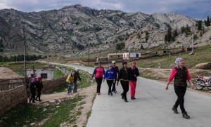 Local ladies (A short stop to pick up some ladies on the way into the Valley) photo Ana pautler