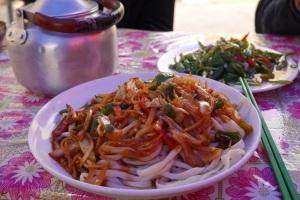 Noodles (Handmade noodle dish) photo ana pautler