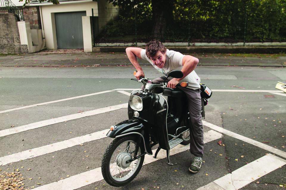 Jonas' Moped Adventure